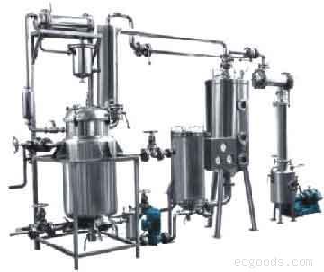 TNH系列小型多功能提取、浓缩、醇沉、回收机组.